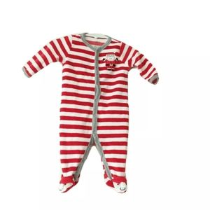 Carter's | Red & White Stripe Kids One Piece